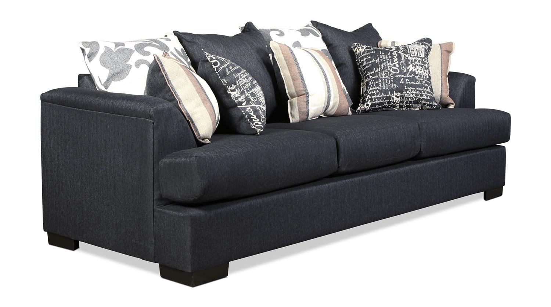 Passport sofa marine levin furniture for Levin furniture sectional sofa