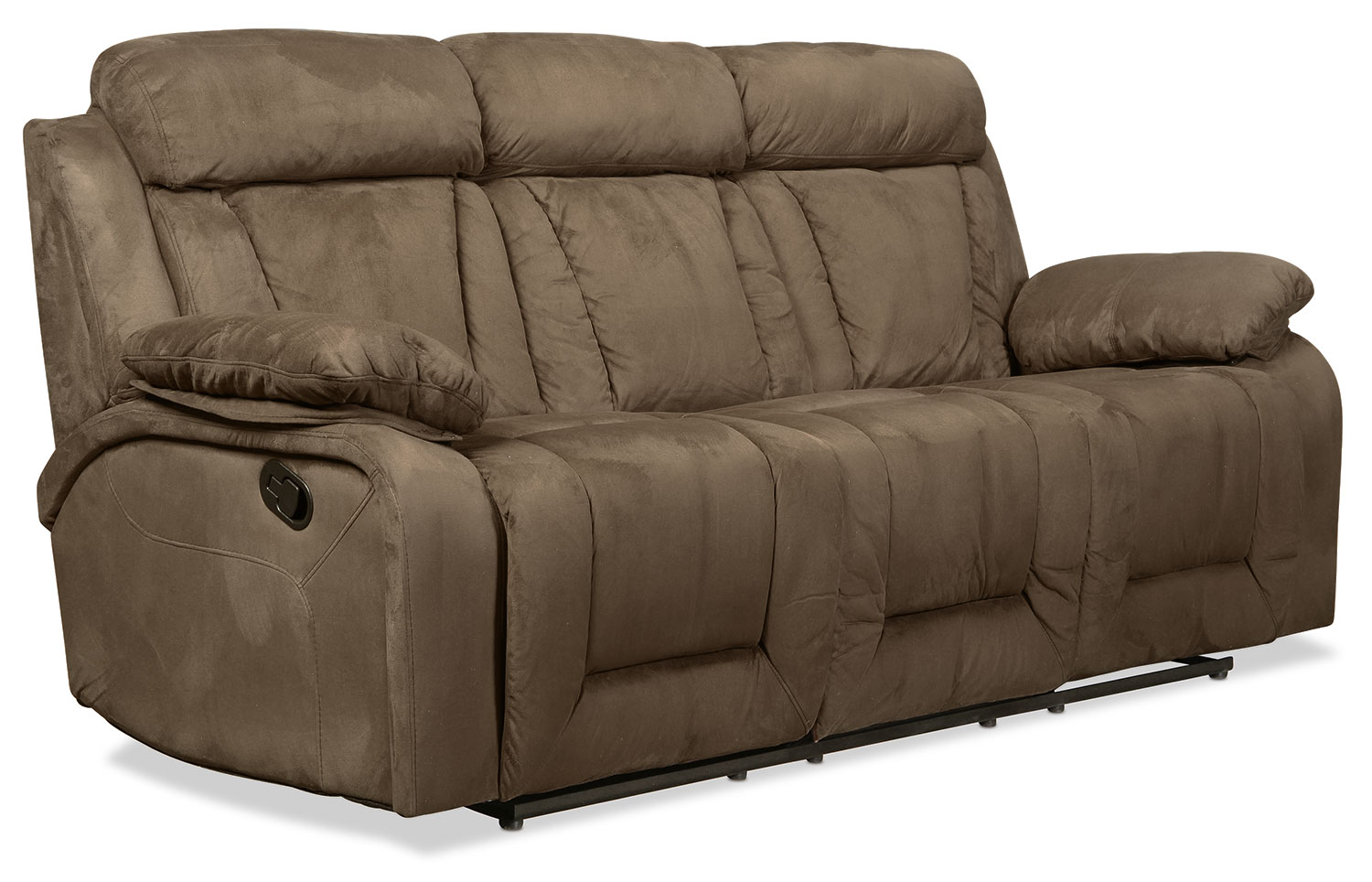 Forina Reclining Sofa - Latte