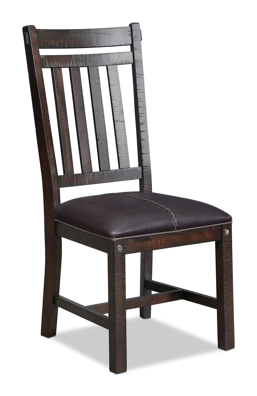 Eilean Side Chair - Dark Mahogany