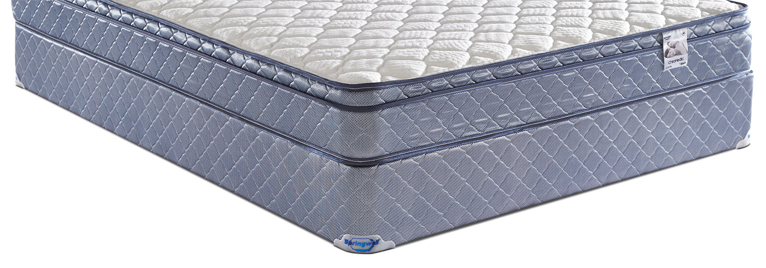 Mattresses and Bedding - Springwall 2016 Queen Boxspring