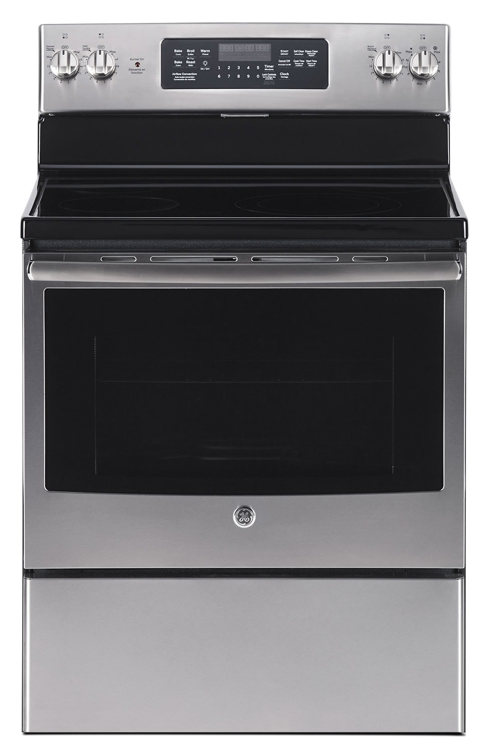 Cooking Products - GE 5.0 Cu. Ft. Freestanding Electric Range – JCB830SKSS