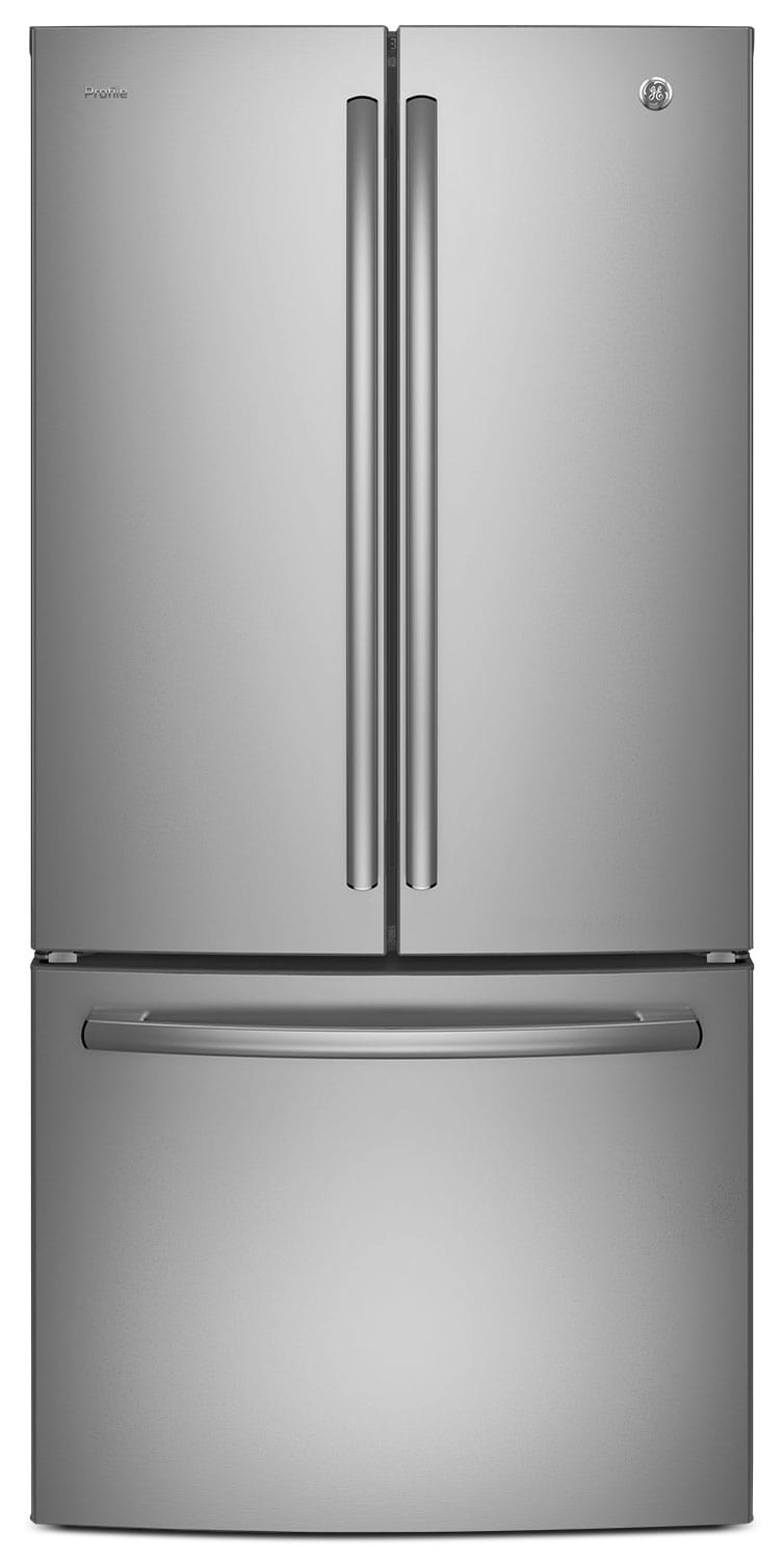 GE 24.8 Cu. Ft. French-Door Refrigerator with Internal Water Dispenser – PNE25JSKSS