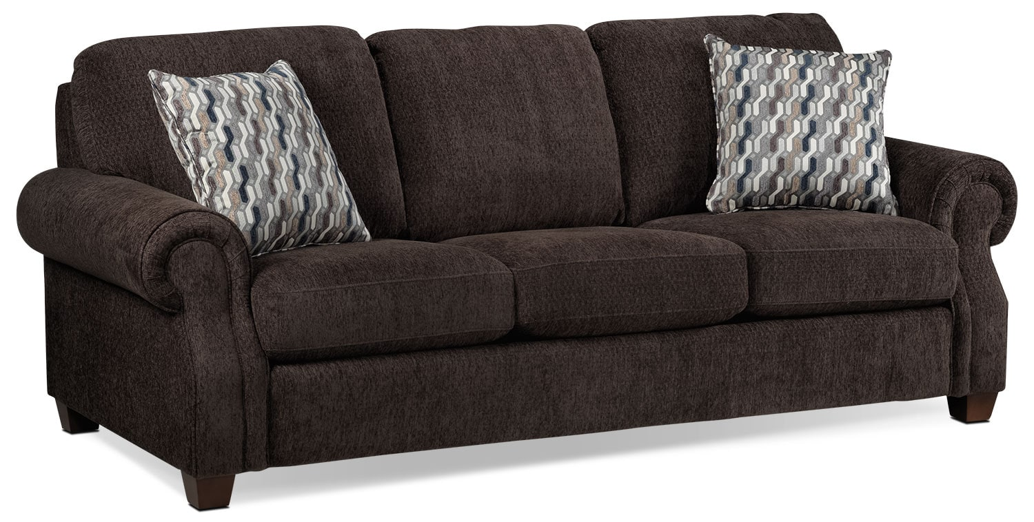 Living Room Furniture - Barbara Sofa - Espresso