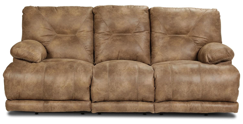 Elgin Reclining Sofa - Brandy