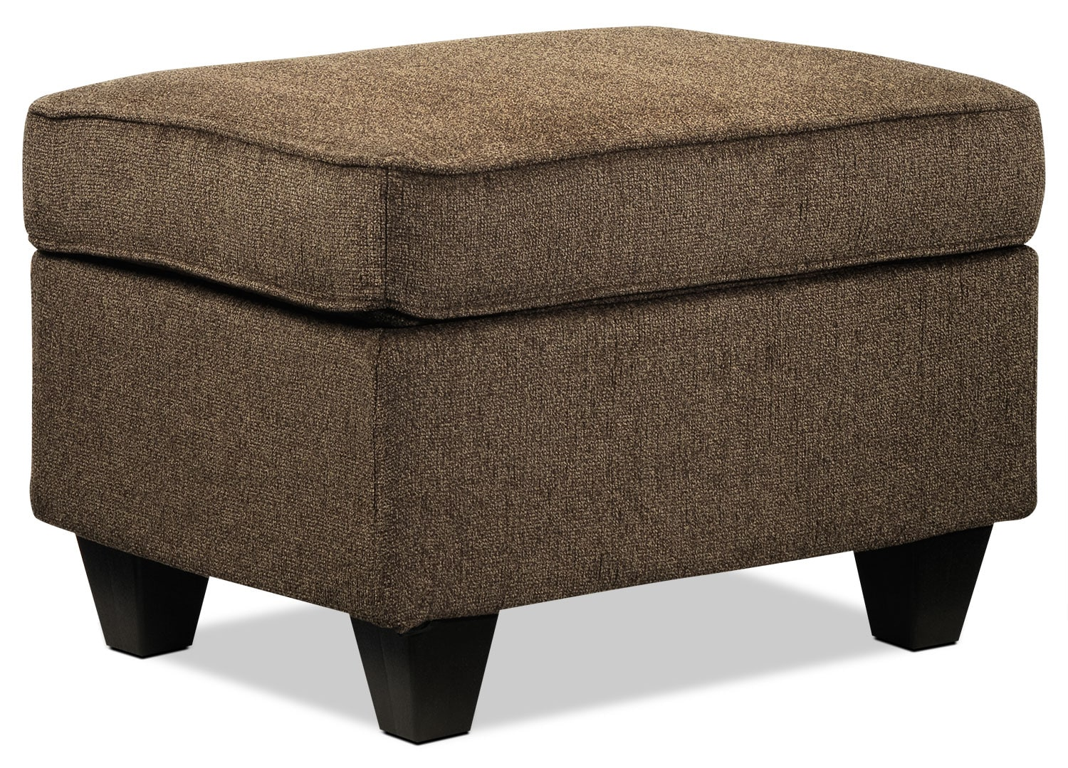 Living Room Furniture - Cornell Ottoman - Brown