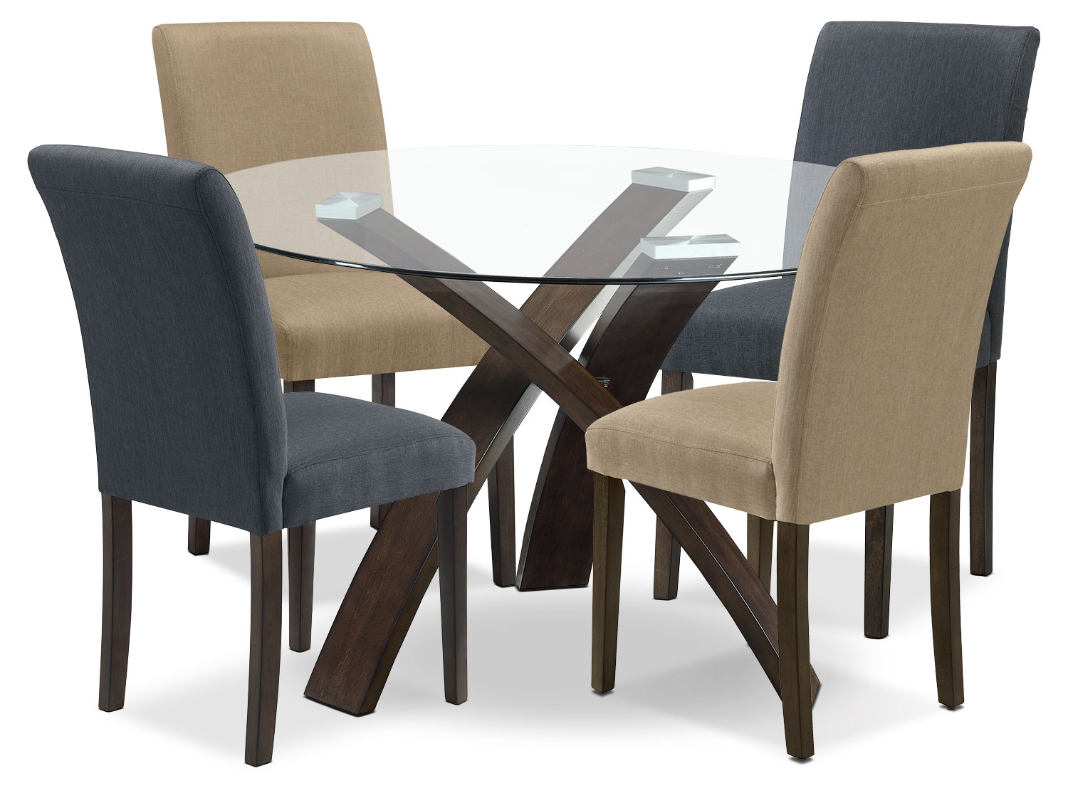 Dining Room Furniture - Skye 5-Piece Dining Package – Assorted