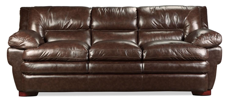 Living Room Furniture - Loren Sofa - Oak