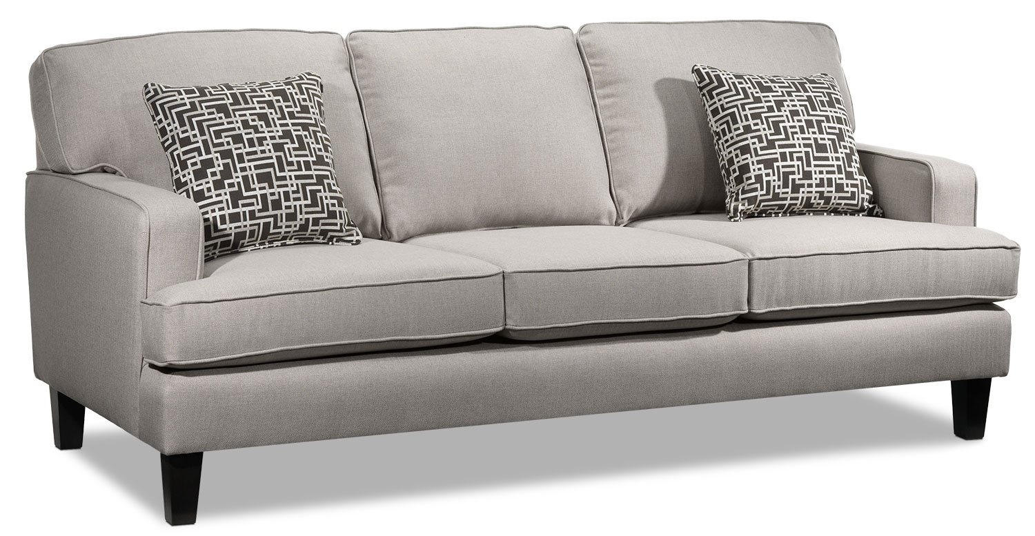 Living Room Furniture - Jango Sofa - Taupe