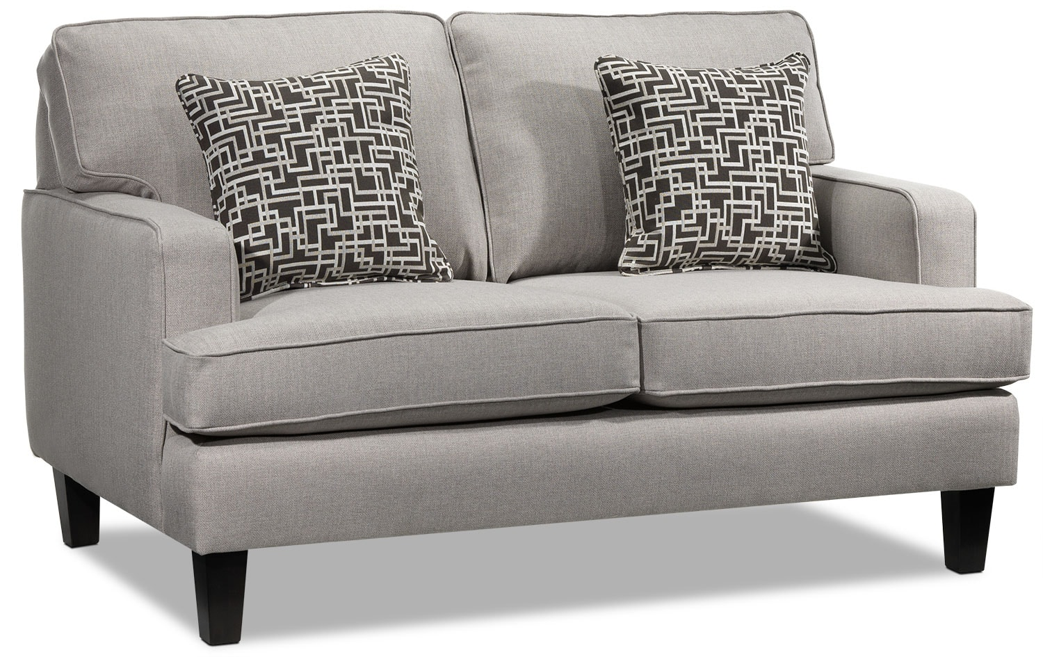 Living Room Furniture - Jango Loveseat - Taupe