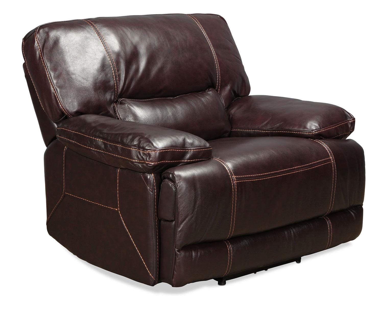 Dermott Power Recliner Brown Levin Furniture