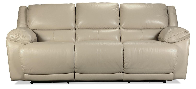 Rumi Power Reclining Sofa - Taupe