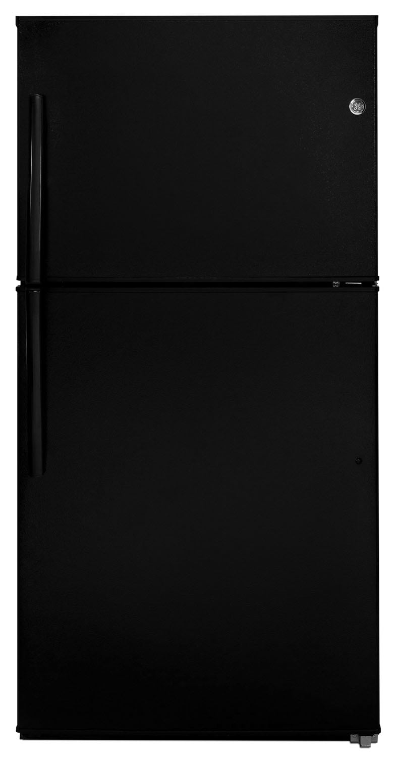 Refrigerators and Freezers - GE 21.2 Top-Freezer Refrigerator – GTE21GTHBB