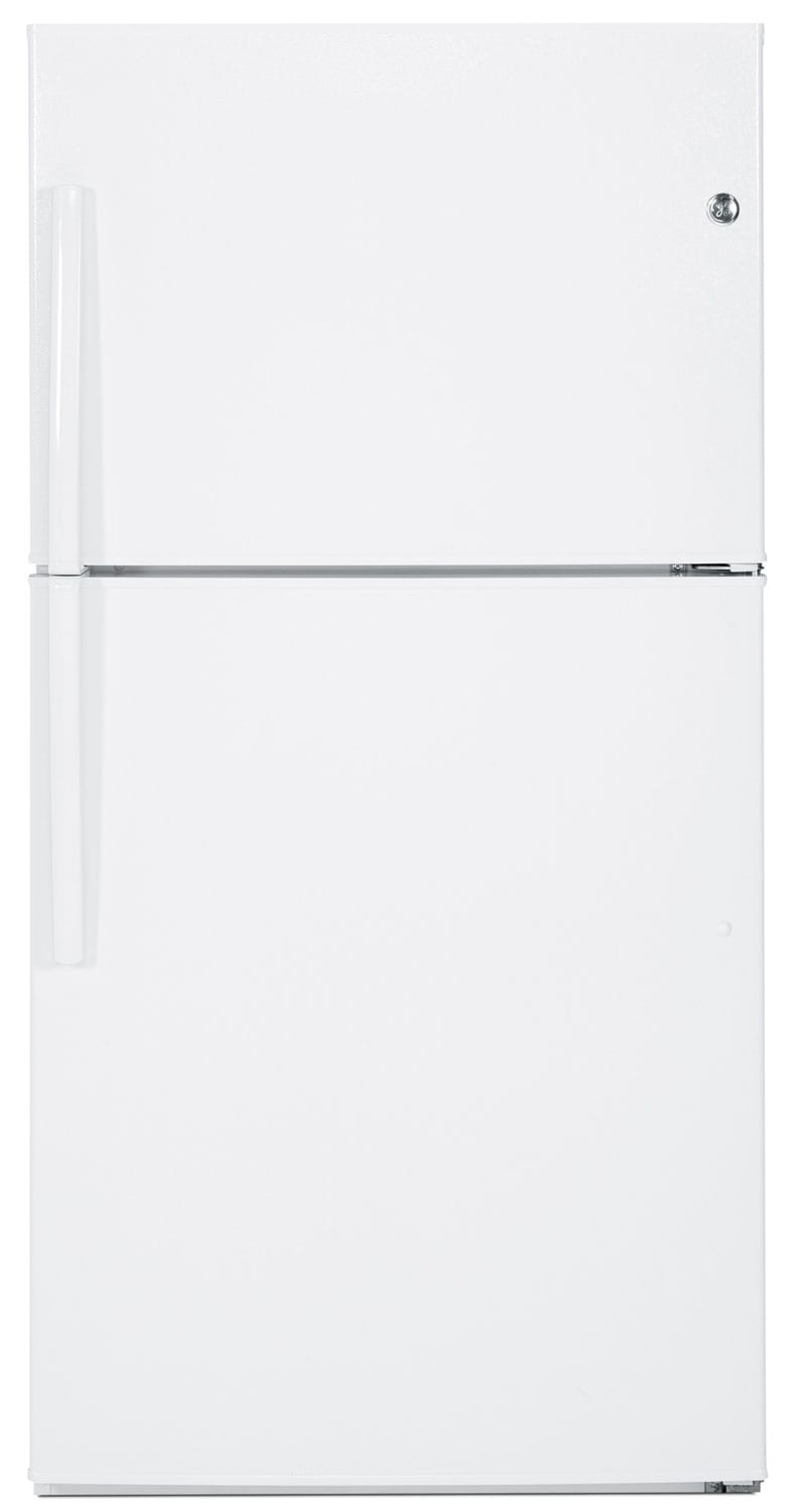 Refrigerators and Freezers - GE 21.2 Top-Freezer Refrigerator – GTE21GTHWW
