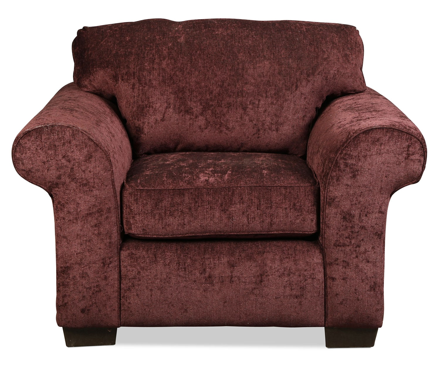 Living Room Furniture - Roseville Chair - Elderberry