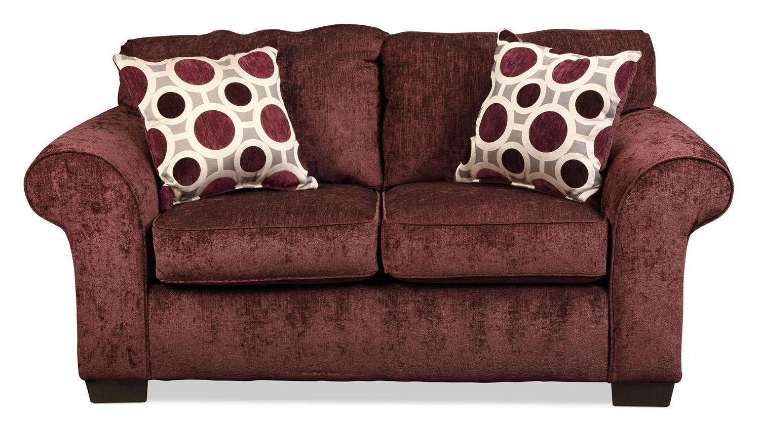 Roseville Loveseat - Elderberry