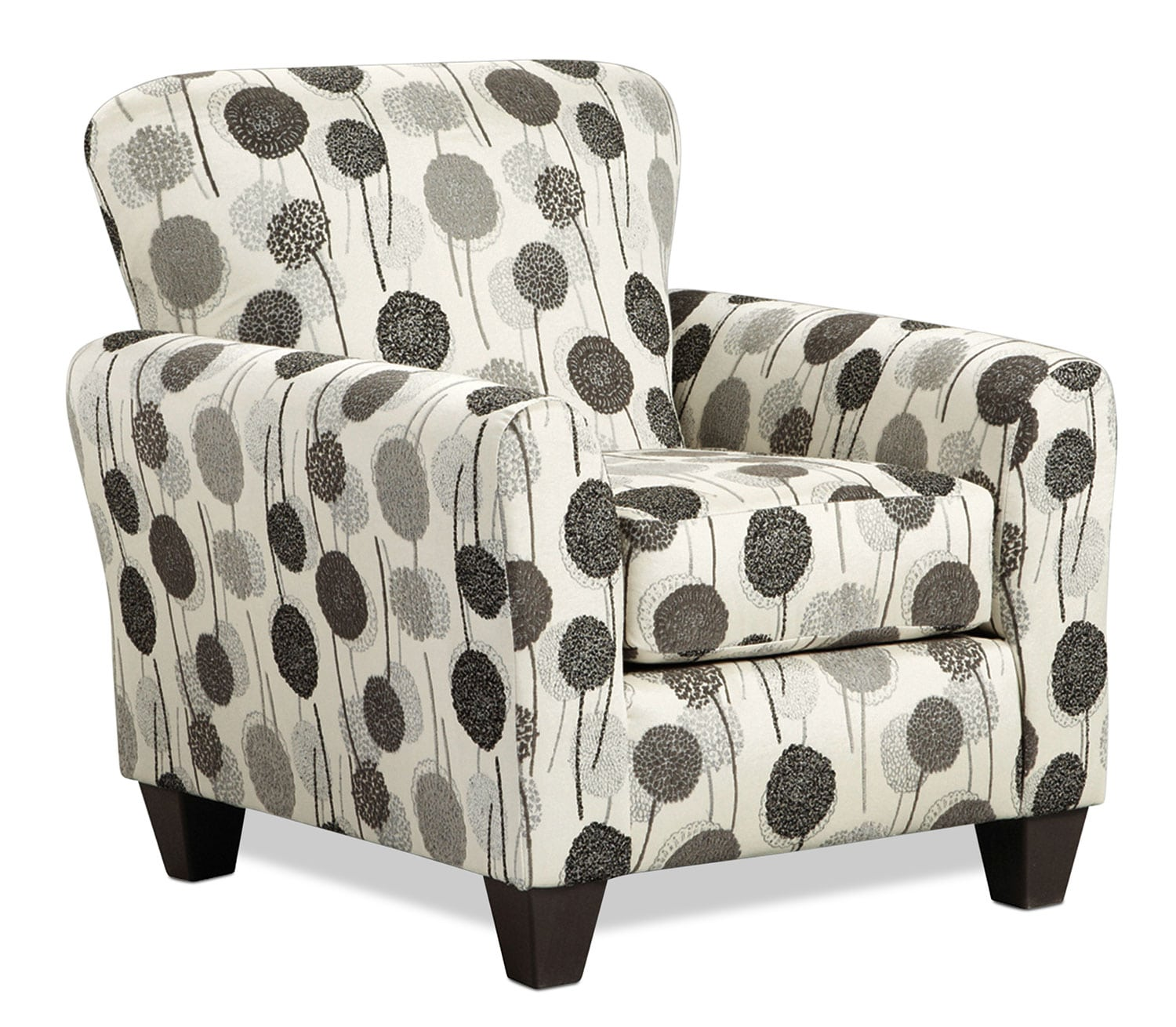 Living Room Furniture - Roseville Accent Chair - Floral