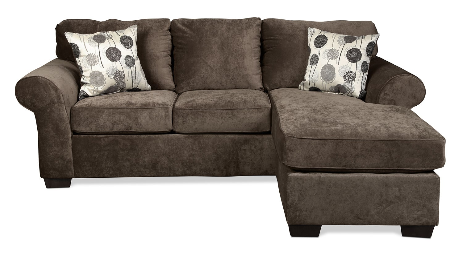 Roseville Chaise Sofa - Ash
