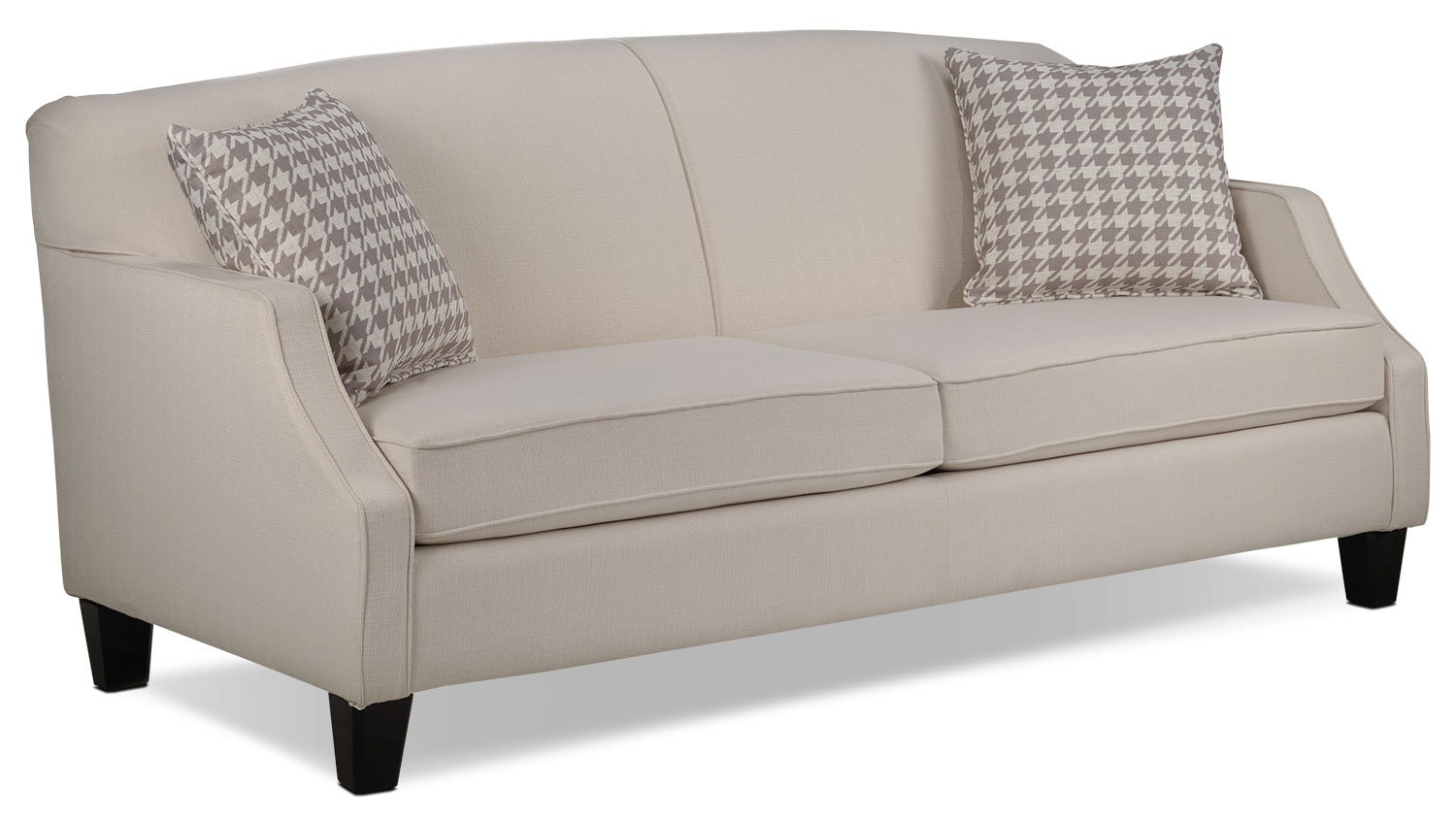 Living Room Furniture - Klein Sofa - Ivory