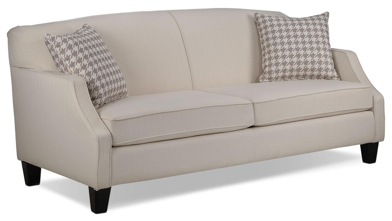 Living Room Furniture - Klein Sofa - Ivory