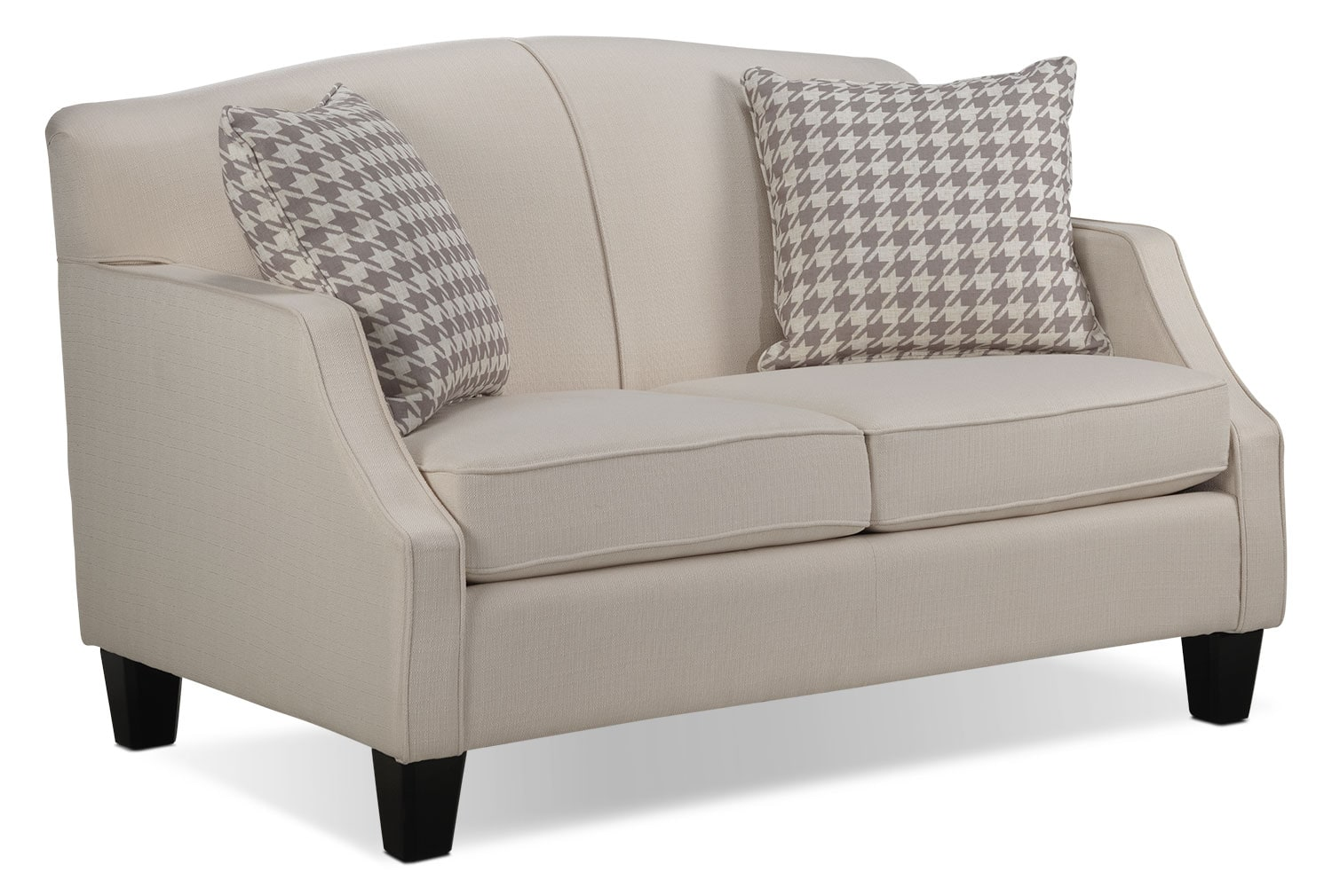 Living Room Furniture - Klein Loveseat - Ivory