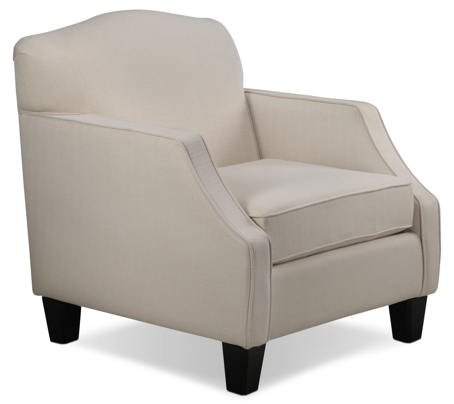 Living Room Furniture - Klein Chair - Ivory
