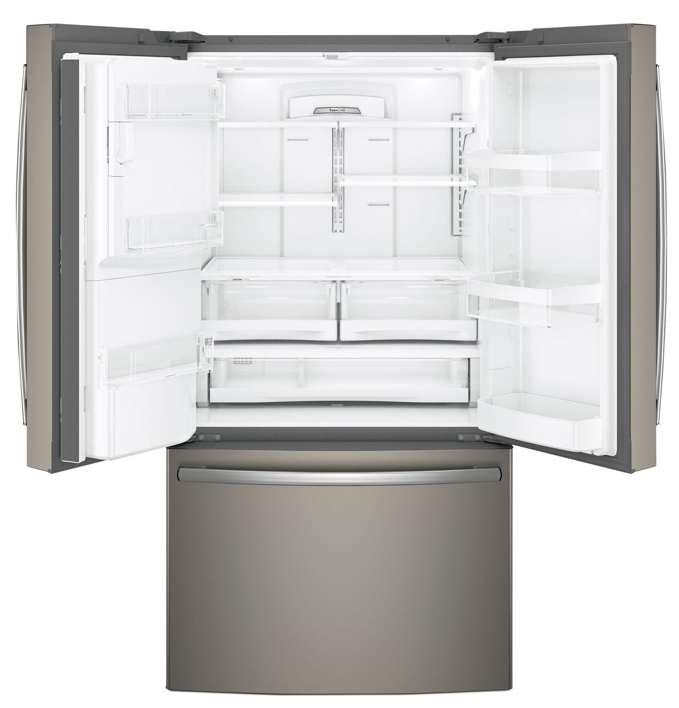 Appliance Stores Nashville Tn Ge 257 Cu Ft French Door Refrigerator Gfe26gmkes The Brick