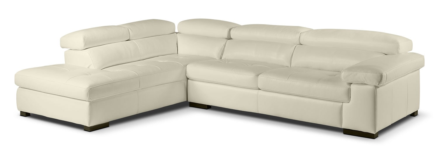 Underwood 2-Piece Left-Facing Sectional - Bisque