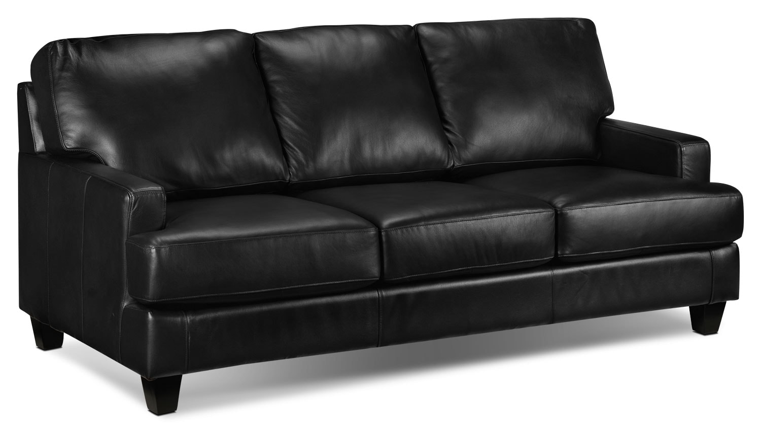 Living Room Furniture - Janie Sofa - Black