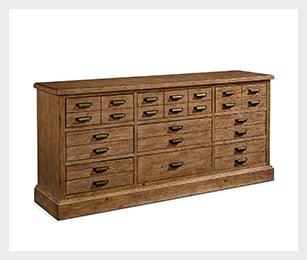Primitive Hardware 9-drawer dresser