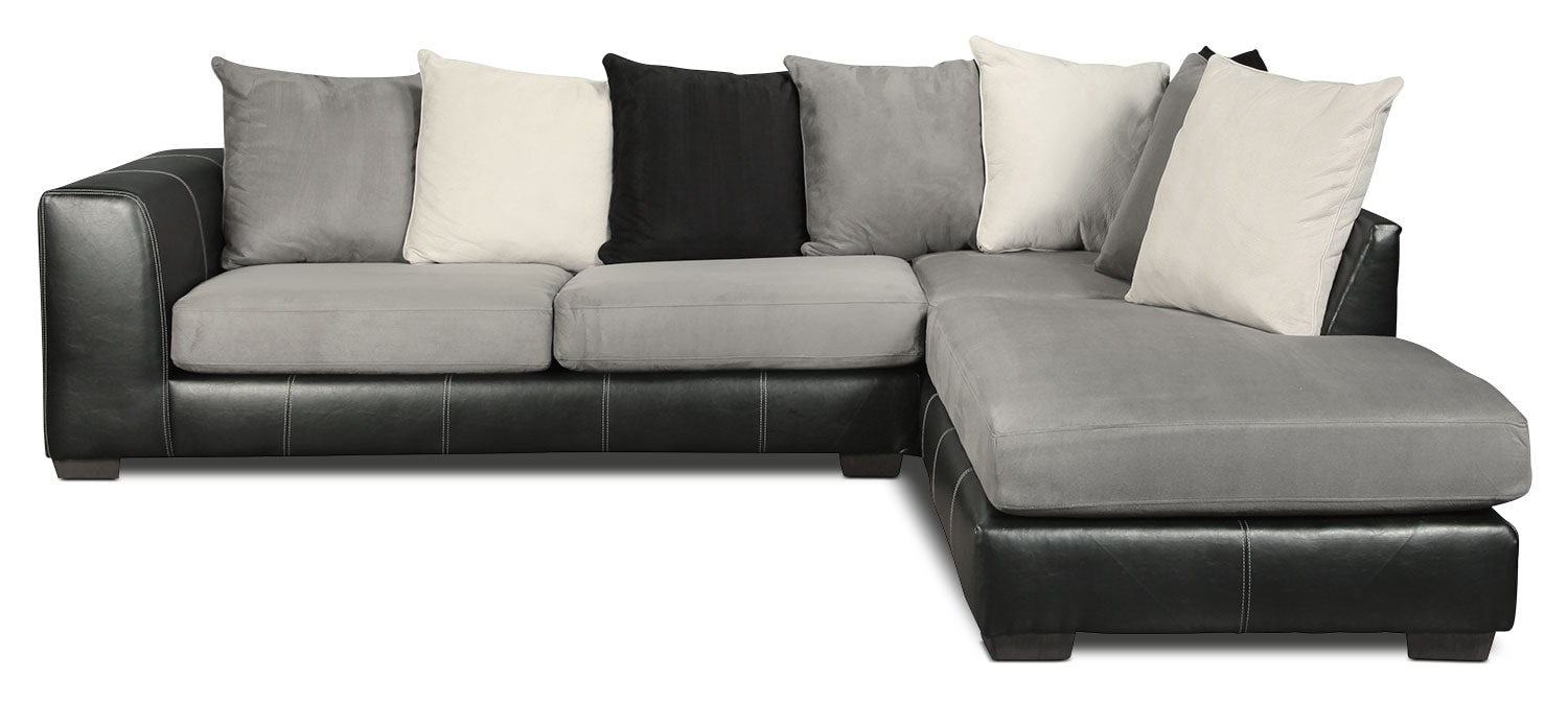 Living Room Furniture - Diamante 2-Piece Sectional
