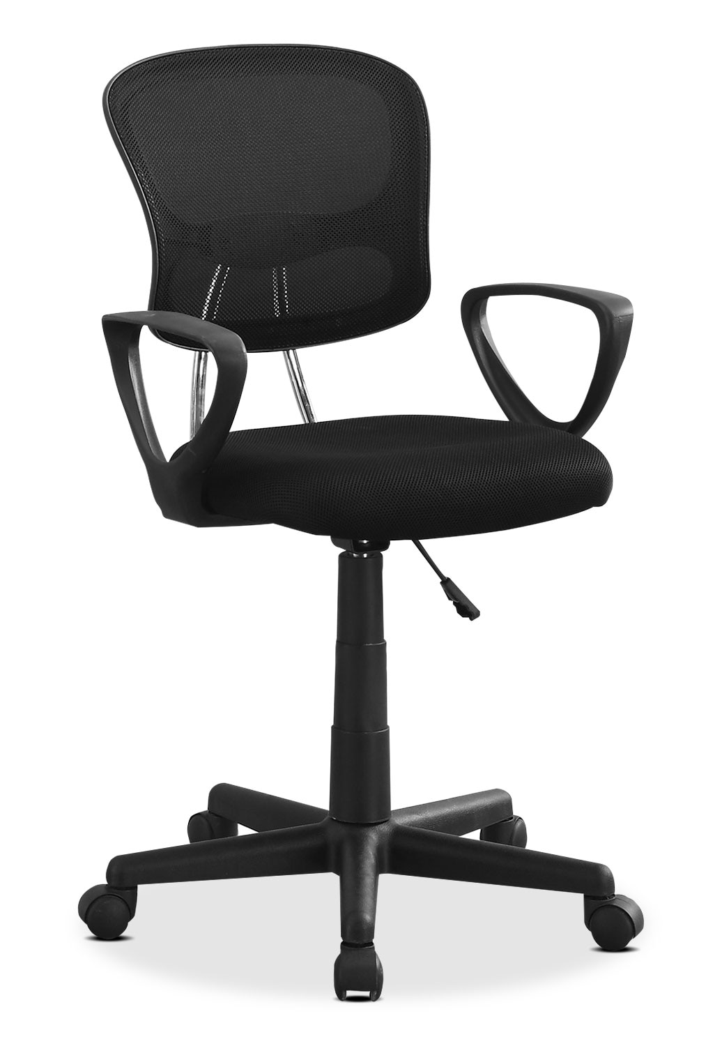 Kids Furniture - Mika Office Chair – Black