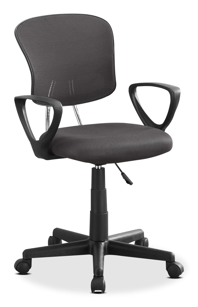 Mika Office Chair – Grey