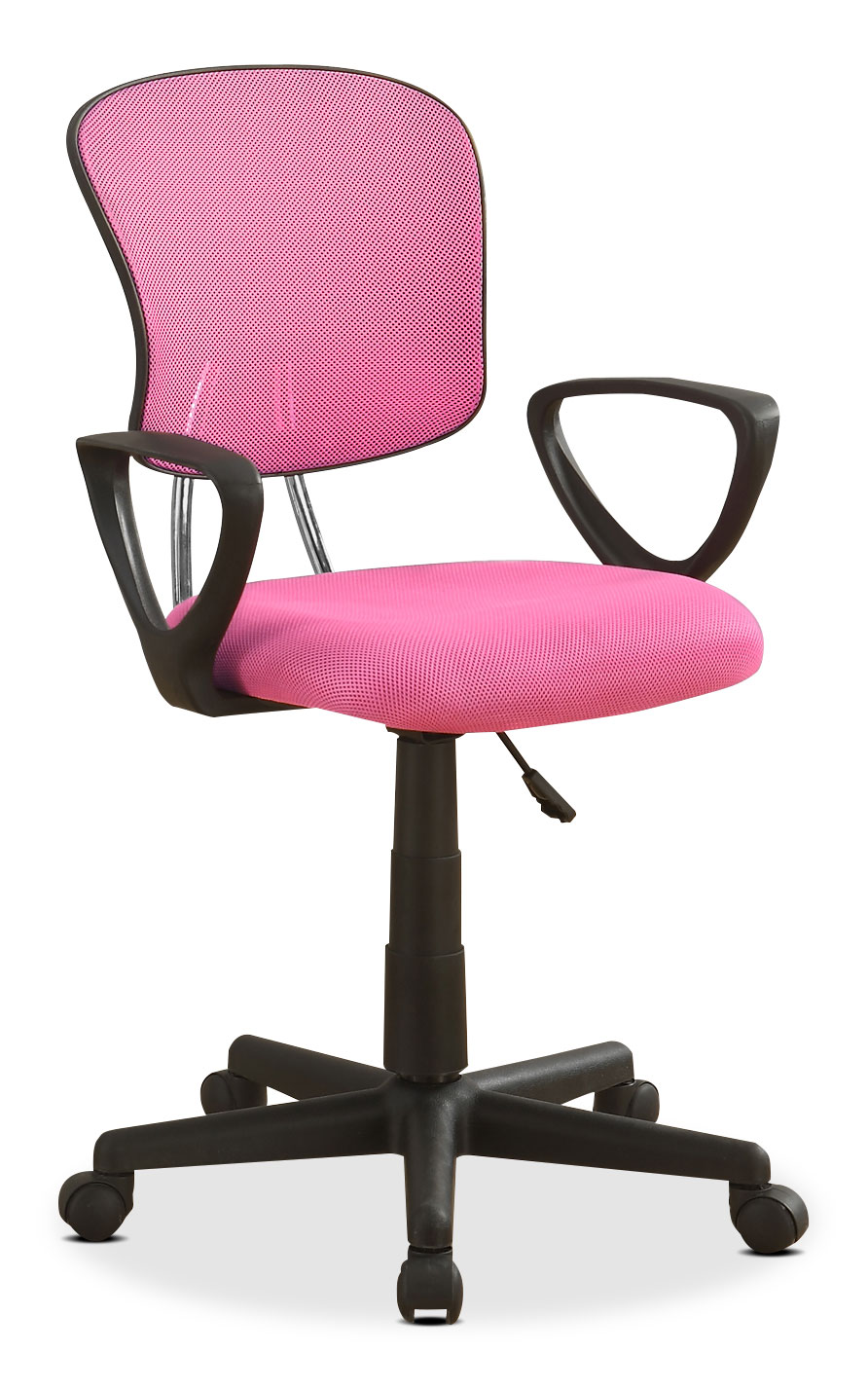 Mika Office Chair Pink United Furniture Warehouse
