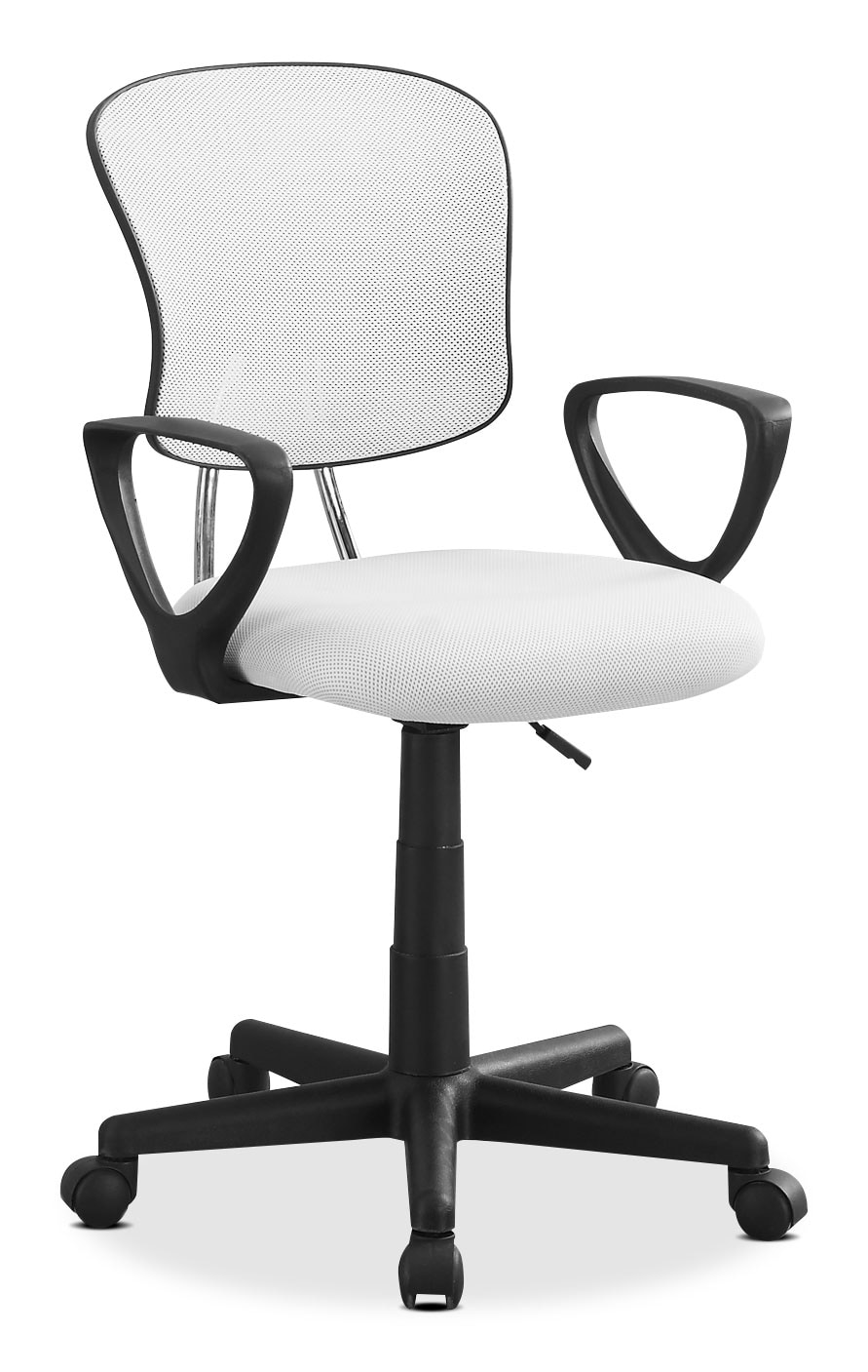 Kids Furniture - Mika Office Chair – White