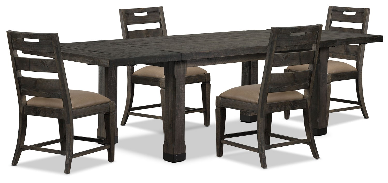 Dining Room Furniture - Calistoga 5-Piece Dining Package
