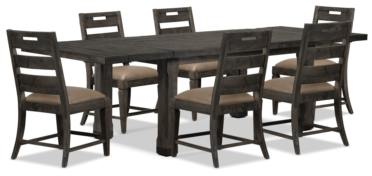 Dining Room Furniture - Calistoga 7-Piece Dining Package