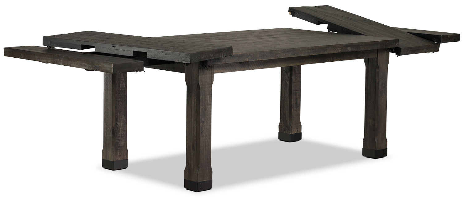 calistoga dining table  the brick -