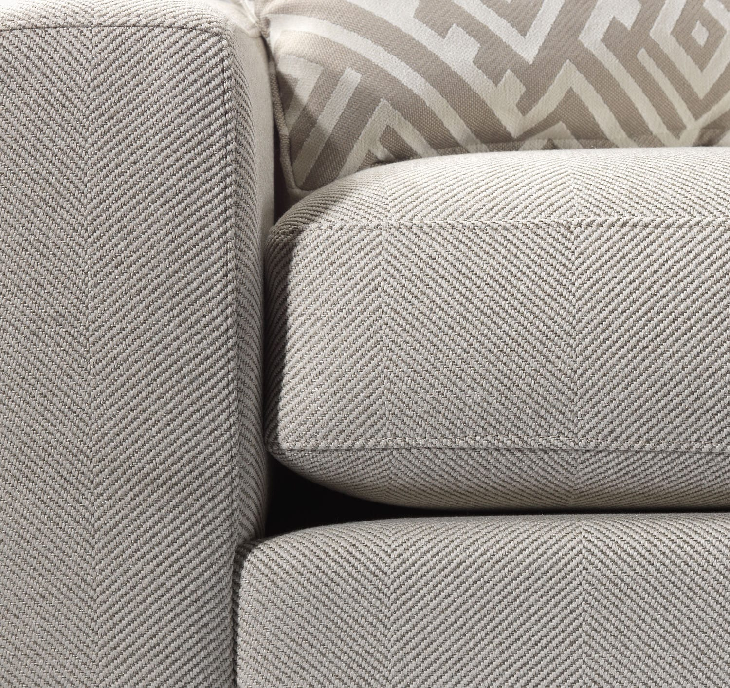 Jennifer 2 Piece Right Facing Sectional Pebble