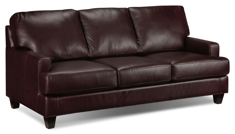 Living Room Furniture - Janie Sofa - Espresso