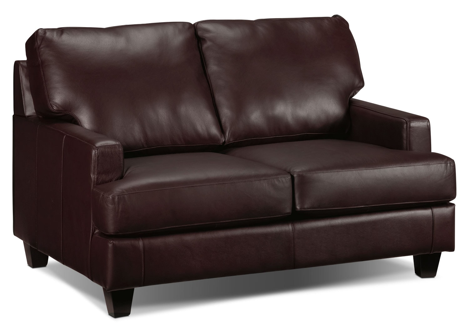 Living Room Furniture - Janie Loveseat - Espresso