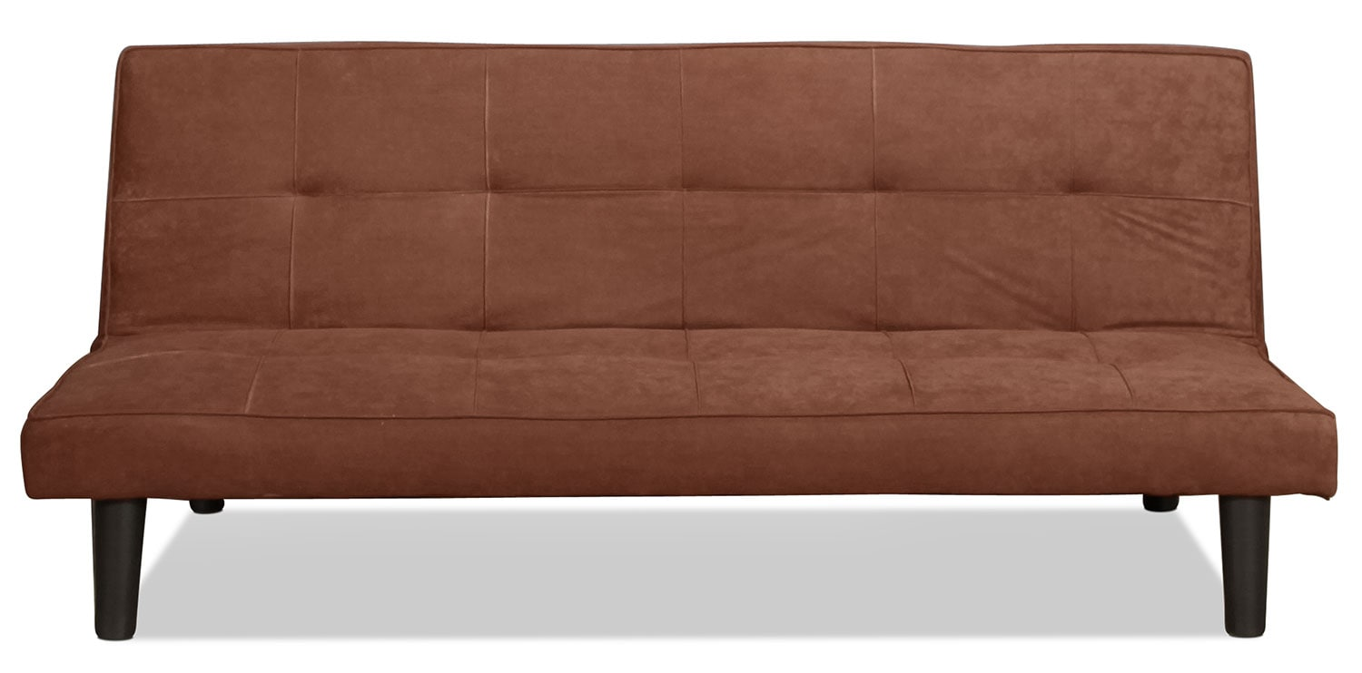 Cannes Convertible Sofa - Chocolate