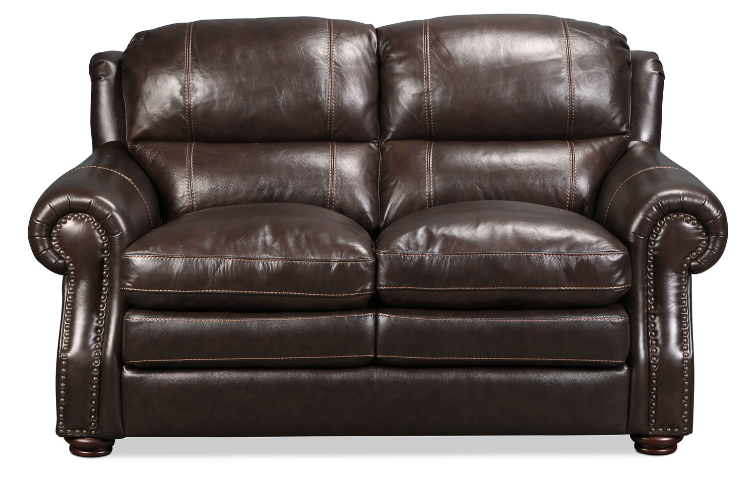 Taft Loveseat - Brown