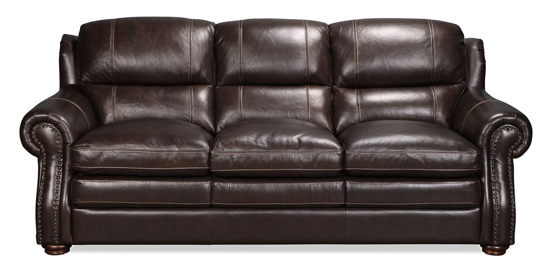 Taft Sofa - Brown