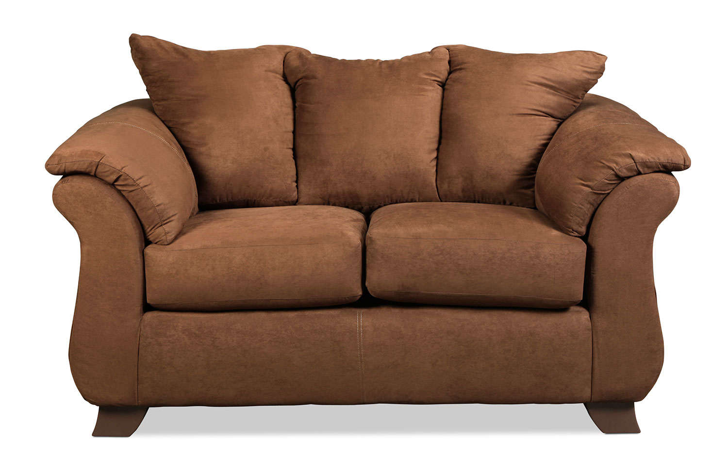 Shelby Loveseat - Chocolate