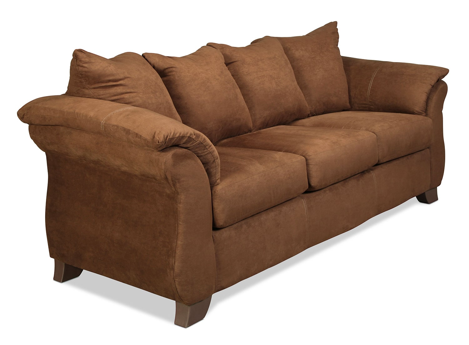 Shelby Bedroom Furniture Shelby Sofa Chocolate Levin Furniture
