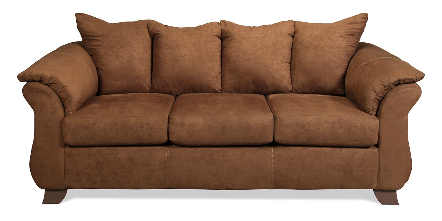 Shelby Sofa - Chocolate