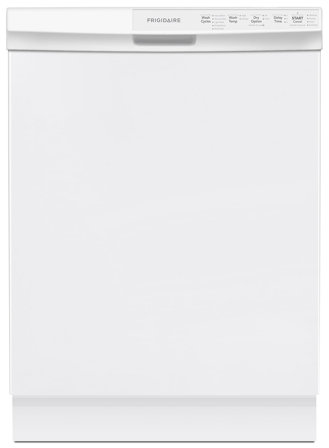 "Clean-Up - Frigidaire White 24"" Dishwasher - FFBD2412SW"