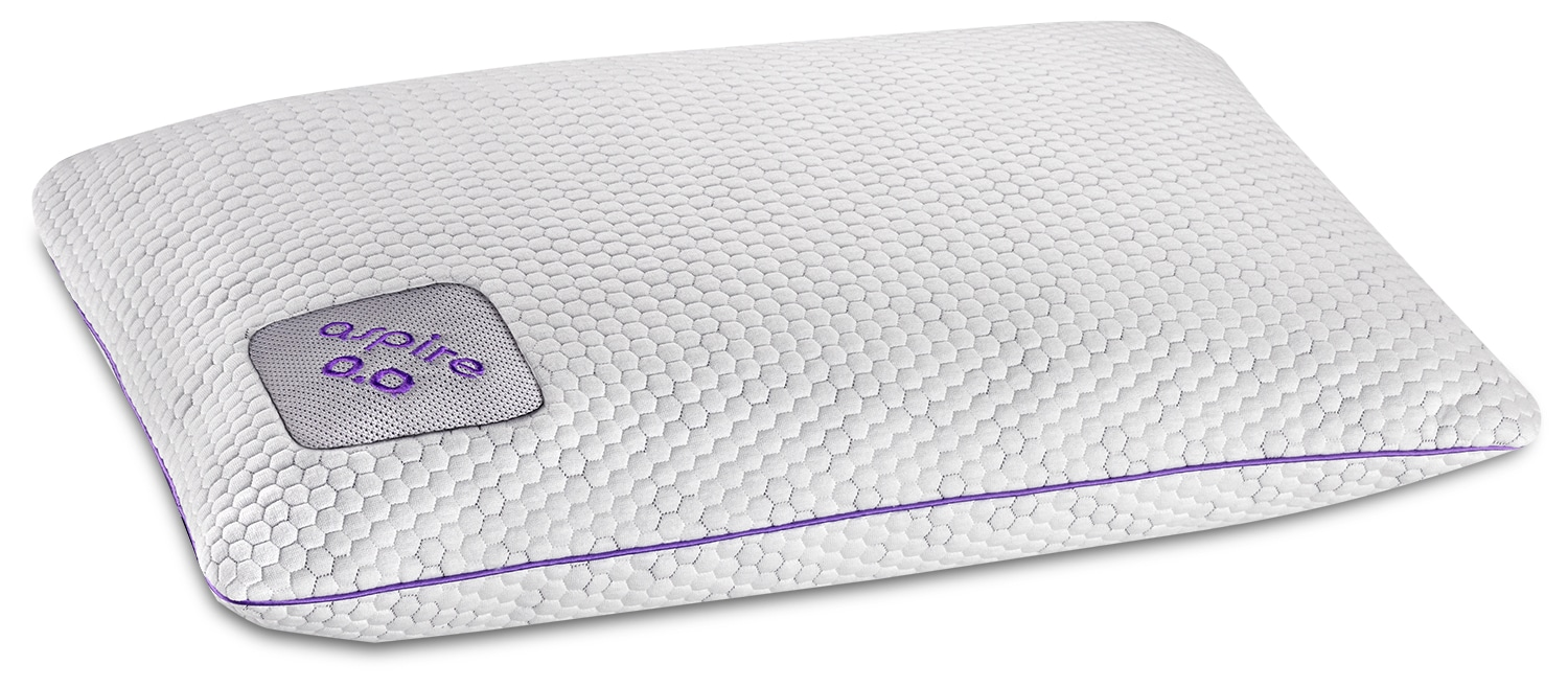 Mattresses and Bedding - Bedgear™ Aspire 0.0 Position Pillow Pad – Stomach Sleeper