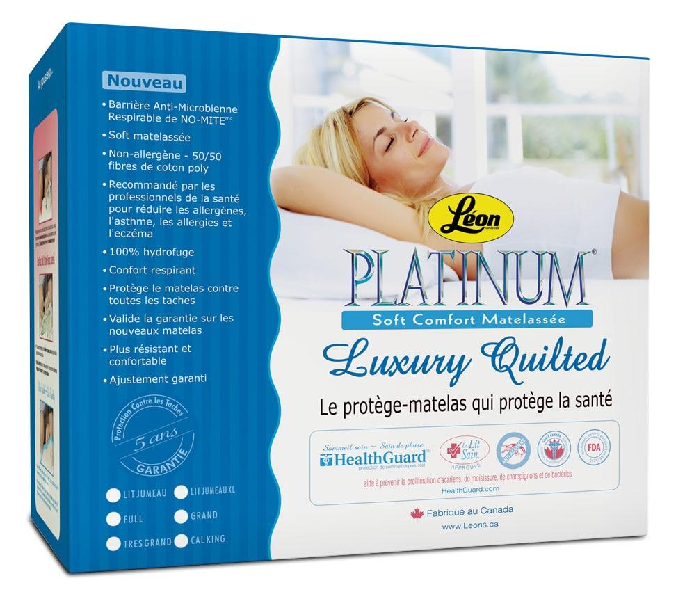 Platinum Plus Protège-matelas simple