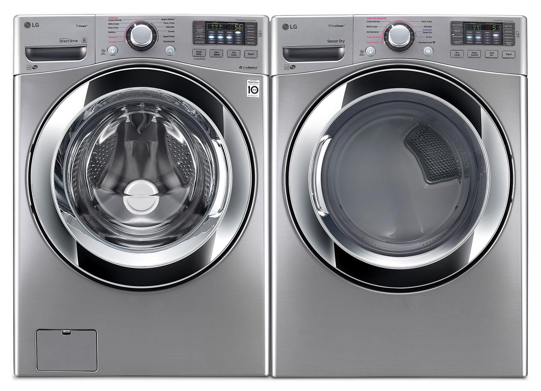 LG Laundry - WM3670HVA/DLEX3370V